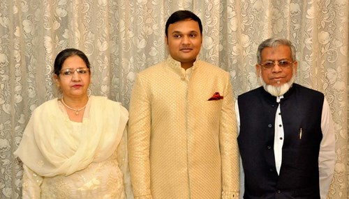 Engr. Iqbal Ahmed Khan Attends a Family Wedding in Meerut