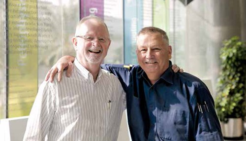 Upstream Duo Leave Legacy of Professionalism Upon Retirement