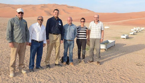 SyPD and KAUST Initiate a Pioneering Ecological Research Project