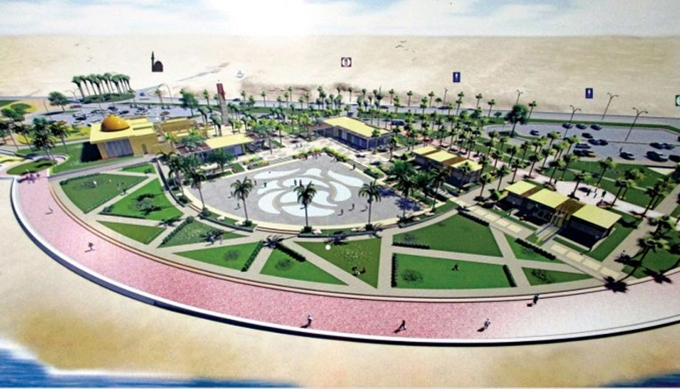 Putting Final Touches on Baish Corniche Project