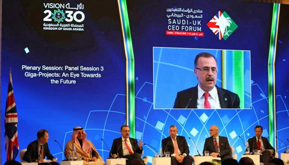 Saudi Aramco Participates in UK-Saudi CEO Forum in London and Signs MoUs and Commercial Agreements