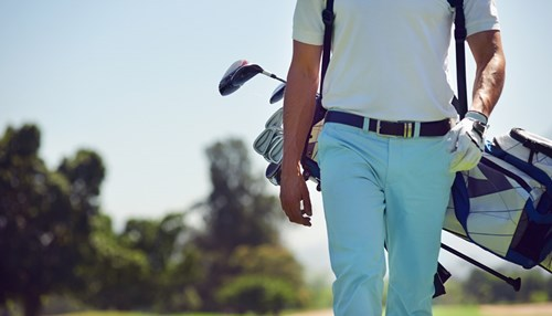 Fathers, Golf, and Music Go Together