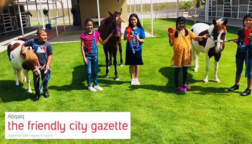 Abqaiq: The Friendly City Gazette - September 2018