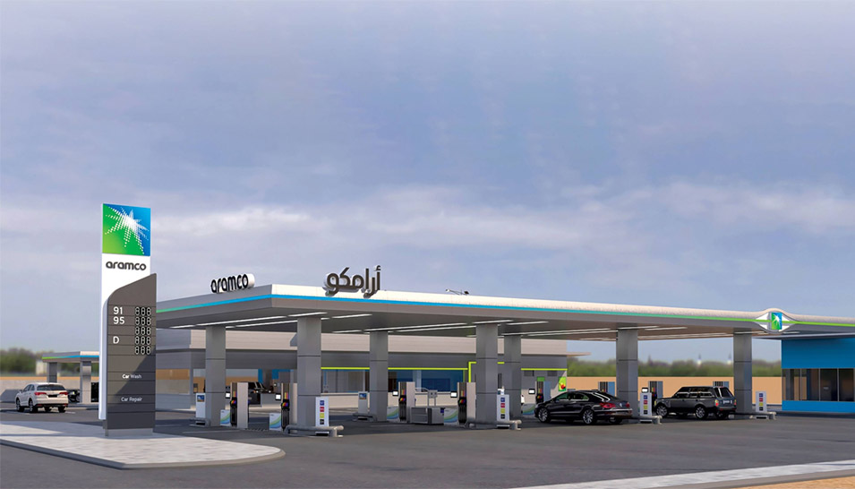 Leveraging Our Brand: Aramco Service Stations Coming to The Kingdom