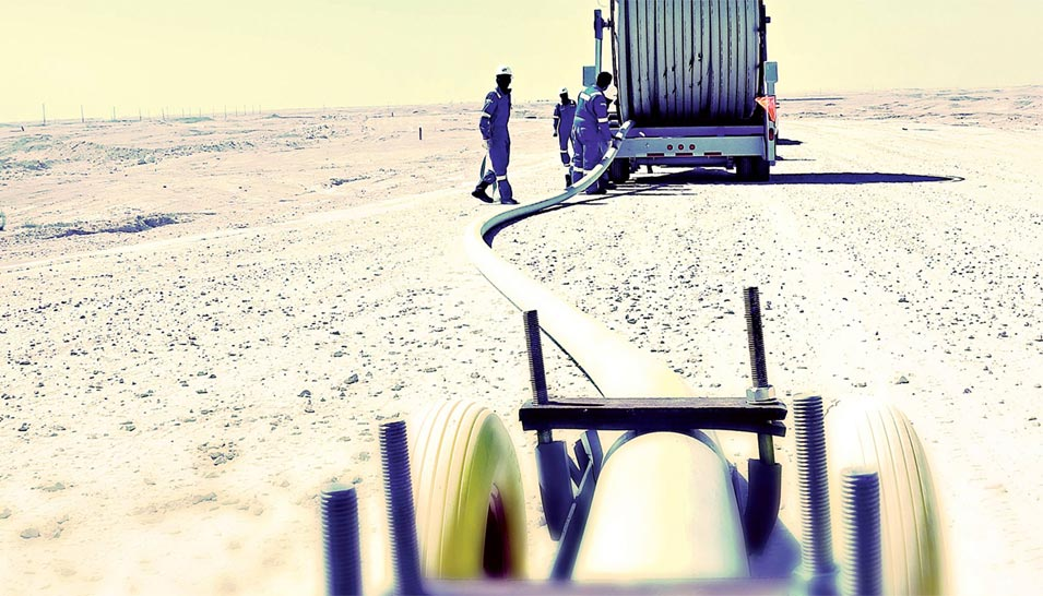 Aramco Adopts Cutting-edge Pipeline Practices