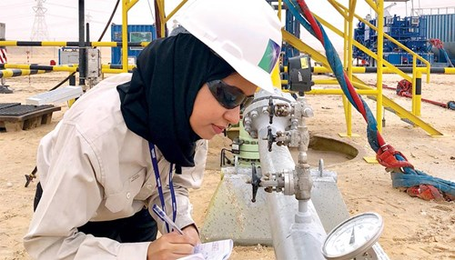 Diversity makes further inroads into Aramco