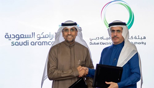 Saudi Aramco and Dubai Electricity & Water Authority Sign MoU to Foster Collaboration in New Energy