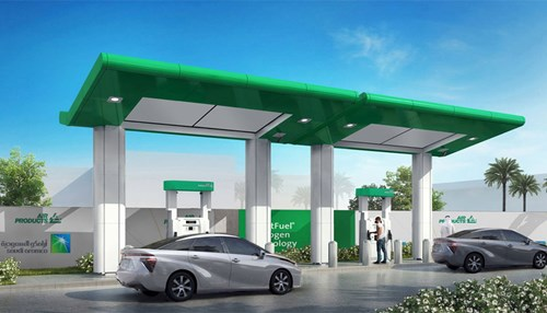 Saudi Aramco and Air Products to Build Saudi Arabia's First Hydrogen Fuel Cell Vehicle Fueling Station