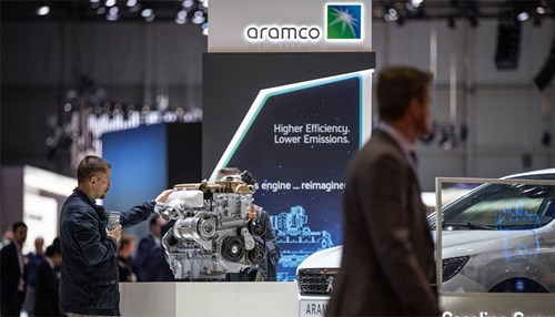 Saudi Aramco Showcases Innovative Engine Technologies at Geneva International Motor Show