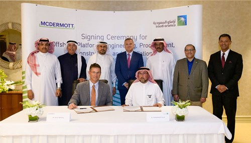 Saudi Aramco and McDermott Sign Lease Agreement to Establish Engineering, Procurement, Construction, and Installation Facility in Saudi Arabia