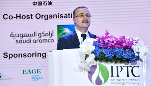 Saudi Aramco CEO Addresses International Petroleum Technology Conference in Beijing, says Technology and Partnerships are Critical for an Efficient Energy Transition