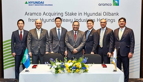 Saudi Aramco to Acquire Stake in South Korean Hyundai Oilbank