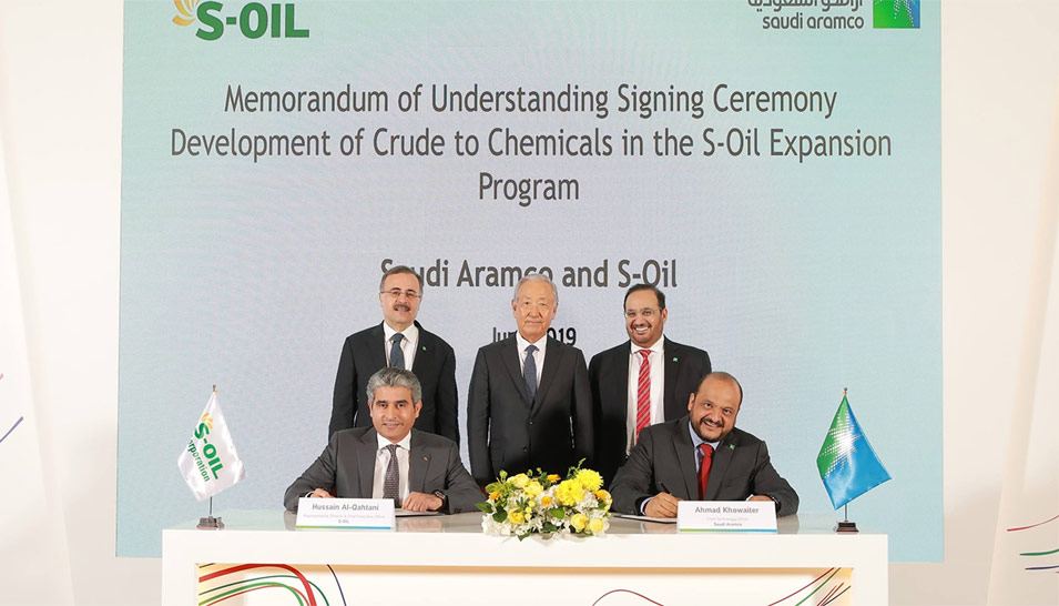Saudi Aramco Advances Global Chemicals Strategy with S-Oil Expansion Project in Ulsan, South Korea