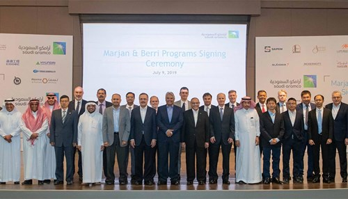 Saudi Aramco Awards Contracts Valued at $18 Billion to Increase Marjan and Berri Oilfields' Production Capacity