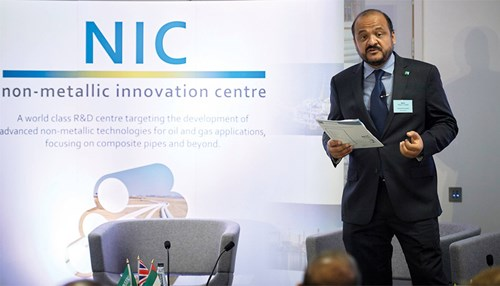 TWI, Saudi Aramco and ADNOC open Nonmetallic Innovation Center in the UK
