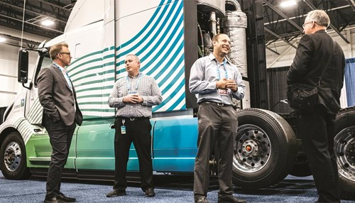 Aramco Debuts Low CO2 Demonstration Truck at SAE Innovations in Mobility Event in Detroit
