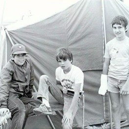 Ras Tanura Boy Scouts Longterm Camp at Half Moon Bay - Circa 1983