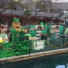 San Antonio Goes Green for St. Patrick's Day