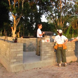 Habitat for Humanity - Thailand Build