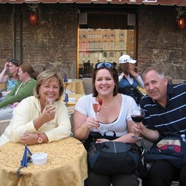 The Stevens in Siena, Italy - 2008