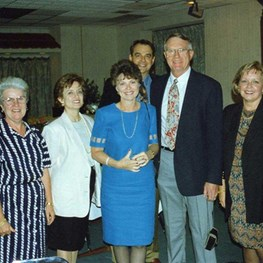 Mike Waneka Retirement 1995