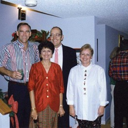 Stevens Christmas in Dhahran - 1993