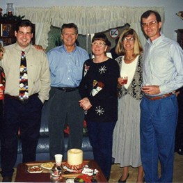 Stevens Christmas in Dhahran - 1996