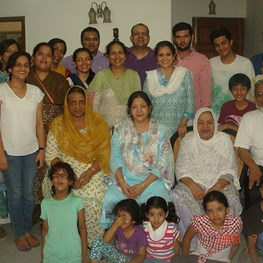 Family Visit to India - Family Reunion